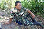 Akira In Mine Field On Break