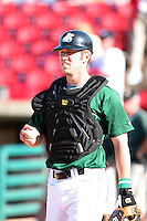 Chad Tracy of the Clinton Lumberkings during the Midwest League All-Star game.  Photo by:  Mike Janes/Four Seam Images