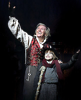 London, UK - Tommy Steele stars in the title role of 'Scrooge' in the ever popular Festive production at the London Palladium, London - October 31st 2012..Photo by Keith Mayhew