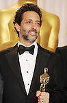 HOLLYWOOD, CA - FEBRUARY 24: Grant Heslov poses in the press room the 85th Annual Academy Awards at Dolby Theatre on February 24, 2013 in Hollywood, California.