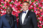NEW YORK, NY - JUNE 10:  Christopher Jackson (R) attends the 72nd Annual Tony Awards at Radio City Music Hall on June 10, 2018 in New York City.  (Photo by Walter McBride/WireImage)