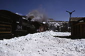 C&amp;TS rotary snowplow #OY train at Cumbres.<br /> C&amp;TS  Cumbres, CO