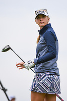 Jessica Korda (USA) watches her tee shot on 3 during the round 2 of the KPMG Women's PGA Championship, Hazeltine National, Chaska, Minnesota, USA. 6/21/2019.<br /> Picture: Golffile | Ken Murray<br /> <br /> <br /> All photo usage must carry mandatory copyright credit (© Golffile | Ken Murray)