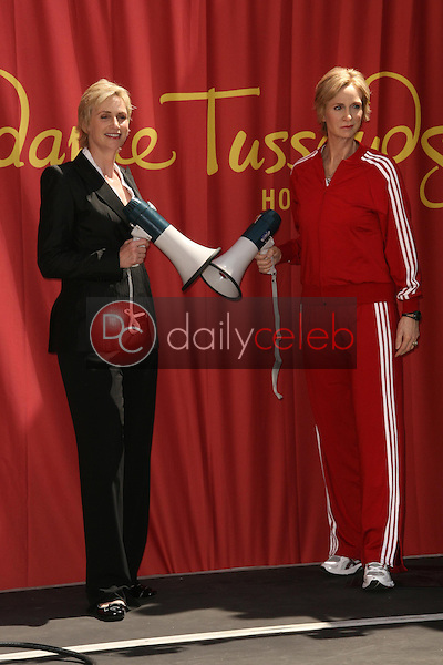 Jane Lynch<br /> at the unveiling of the Jane Lynch Wax Figure, Madame Tussauds, Hollywood, CA, 08-04-10<br /> David Edwards/Dailyceleb.com 818-249-4998