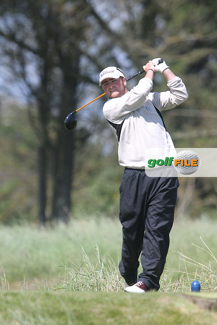 Michael Durcan (Co.Sligo) on the Final Day of the East of Ireland Amateur Open Golf Championship at Co.Louth Golf Club, Baltray...(Photo Jenny Matthews/www.golffile.ie)