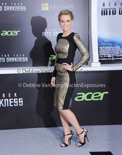 """Alice Eve at Paramount Pictures' Premiere of  """"Star Trek Into Darkness"""" held at The Dolby Theater in Hollywood, California on May 14,2013                                                                   Copyright 2013 Hollywood Press Agency"""