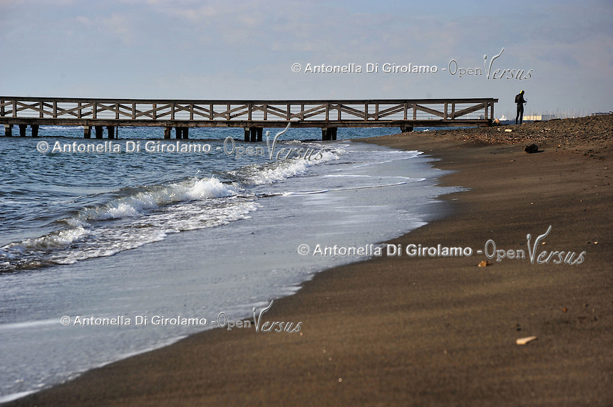 Mare d'inverno.Sea in winter...