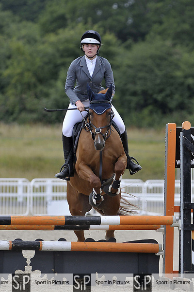 Class 7. 80cm. Unaffiliated showjumping. Brook Farm Training Centre. Essex. 15/07/2017. MANDATORY Credit Garry Bowden/Sportinpictures - NO UNAUTHORISED USE - 07837 394578