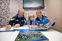 Leo Cullen, Paddy Breslin and Joe Schmidt