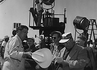 Giant (1956) <br /> Behind the scenes photo of George Stevens<br /> *Filmstill - Editorial Use Only*<br /> CAP/KFS<br /> Image supplied by Capital Pictures