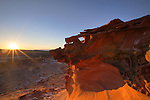 Sunset Vista, Little Finland - Hobgoblin's Playground, Mojave Desert, Nevada