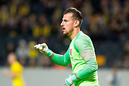 SOLNA, SWEDEN - OCTOBER 16: Martin Dúbravka of Slovakia during the UEFA International Friendly match between Sweden and Slovakia at Friends Arena on October 16, 2018 in Solna, Sweden. Photo by David Lidstrom/LP<br /> ***BETALBILD***