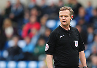 Referee Chris Sarginson<br /> <br /> Photographer Kevin Barnes/CameraSport<br /> <br /> The EFL Sky Bet League Two - Wycombe Wanderers v Blackpool - Saturday 11th March 2017 - Adams Park - Wycombe<br /> <br /> World Copyright &copy; 2017 CameraSport. All rights reserved. 43 Linden Ave. Countesthorpe. Leicester. England. LE8 5PG - Tel: +44 (0) 116 277 4147 - admin@camerasport.com - www.camerasport.com