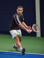 Hilversum, The Netherlands, March 10, 2016,  Tulip Tennis Center, NOVK, Adnan Hoesintalib (NED)<br /> Photo: Tennisimages/Henk Koster
