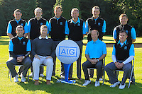 The Slieve Russell team during for the AIG Cups &amp; Shields Finals in Royal Tara Golf Club on Wednesday 18th September 2013.<br /> Picture:  Thos Caffrey / www.golffile.ie