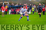 Kerry's Eye man of the match Daniel Daly in action in Cahersiveen on Saturday against Corofin scoring 1-6 in a very one sided Munster Semi-Final 4-21 to 0-1.