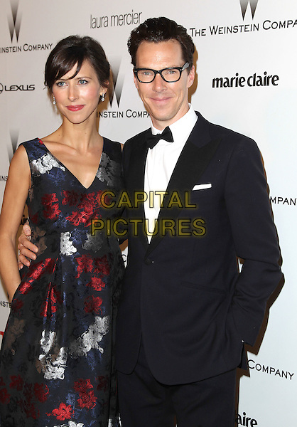 11 January 2015 - Beverly Hills, California - Sophie Hunter, Benedict Cumberbatch. The Weinstein Company and Netflix 2015 Golden Globes After Party celebrating the 72nd Annual Golden Globe Awards held at Robinsons May Lot.  <br /> CAP/ADM/KB<br /> &copy;KB/ADM/Capital Pictures