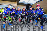 Sliabh Luachra Cycling Club at the Lacey Cup in Tralee on Sunday were l-r: Donie Kelleher, Michael Casey, Denis Lynch, Richard Cleverley, Mike Murphy, Sean Dineen