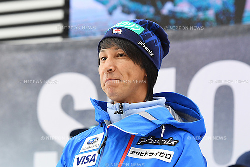Noriaki Kasai, <br /> NOVEMBER 1, 2016 - Ski Jumping :<br /> 2016/2017 SAJ Team Japan TAKE OFF Press Conference<br /> at SUBARU STAR SQUARE, Tokyo, Japan.<br /> (Photo by AFLO SPORT)