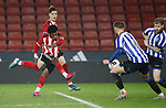 "Ta""Shae Andall-Gibbons of Sheffield Utd shoots during the Professional Development League match at Bramall Lane, Sheffield. Picture date: 26th November 2019. Picture credit should read: Simon Bellis/Sportimage"