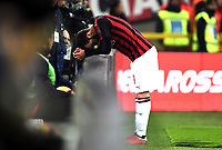 Gonzalo Higuain reacts during the Serie A 2018/2019 football match between AC Milan and SPAL at stadio Giuseppe Meazza in San Siro, Milano, December 29, 2018 <br /> Foto Image Sport / Insidefoto