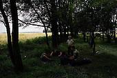 Orli, Ukraine.July 26, 2005 ..Watching over the fields......