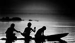 pescadores rio araguaia , conceição do araguaia , pará