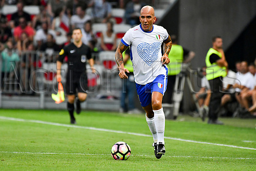 June 17th 2017; Allianz Riviera, Nice, France; Legends football international, France versus Italy;  Pietro Vierchowod (Ita)