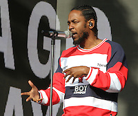 Kendrick Lamar at the Barclaycard British Summertime Festival - Day Two - at Hyde Park, London on July 2nd 2016<br /> CAP/ROS<br /> &copy; Steve Ross/Capital Pictures /MediaPunch ***NORTH AND SOUTH AMERICAS ONLY***