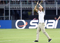 Milano 03-08-2017 Stadio San Siro Giuseppe Meazza - Europa League Milan - Craiova foto Daniele Buffa/Image Sport/Insidefoto<br /> nella foto: Leonardo Bonucci
