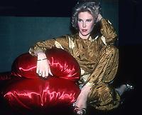 #RitaJenrette 1983<br /> Photo By Adam Scull/PHOTOlink.net