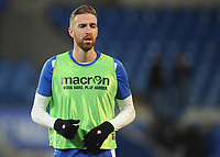 Bolton Wanderers' Mark Beevers during the pre-match warm-up <br /> <br /> Photographer Kevin Barnes/CameraSport<br /> <br /> The EFL Sky Bet Championship - Cardiff City v Bolton Wanderers - Tuesday 13th February 2018 - Cardiff City Stadium - Cardiff<br /> <br /> World Copyright &copy; 2018 CameraSport. All rights reserved. 43 Linden Ave. Countesthorpe. Leicester. England. LE8 5PG - Tel: +44 (0) 116 277 4147 - admin@camerasport.com - www.camerasport.com