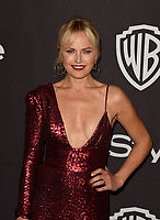 LOS ANGELES, CALIFORNIA - JANUARY 06: Malin Akerman attends the Warner InStyle Golden Globes After Party at the Beverly Hilton Hotel on January 06, 2019 in Beverly Hills, California. <br /> CAP/MPI/IS<br /> &copy;IS/MPI/Capital Pictures