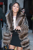 NEW YORK, NY - JANUARY 25: Toni Braxton seen after an appearance on BuzzFeed in New York City on January 25, 2018. Credit: RW/MediaPunch