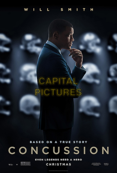 Concussion (2015) <br /> POSTER ART<br /> *Filmstill - Editorial Use Only*<br /> CAP/FB<br /> Image supplied by Capital Pictures