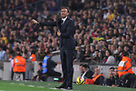 22.11.2014 Barcelona. La Liga day 12. Picture show Luis Enrique in action during game between FC Barcelona v Sevilla at Camp Nou