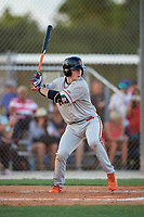 Benjamin Rozenblum during the WWBA World Championship at the Roger Dean Complex on October 18, 2018 in Jupiter, Florida.  Benjamin Rozenblum is a catcher from Coral Springs, Florida who attends Calvary Christian Academy and is committed to Florida International.  (Mike Janes/Four Seam Images)