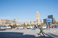 Stadtansicht von Erbil.<br /> Arbil oder Erbil ist die Hauptstadt und zugleich auch der Sitz der Regierung der Autonomen Region Kurdistan im Irak.<br /> 19.12.2014, Erbil/Autonome Kurdische Region/Irak<br /> Copyright: Christian-Ditsch.de<br /> [Inhaltsveraendernde Manipulation des Fotos nur nach ausdruecklicher Genehmigung des Fotografen. Vereinbarungen ueber Abtretung von Persoenlichkeitsrechten/Model Release der abgebildeten Person/Personen liegen nicht vor. NO MODEL RELEASE! Nur fuer Redaktionelle Zwecke. Don't publish without copyright Christian-Ditsch.de, Veroeffentlichung nur mit Fotografennennung, sowie gegen Honorar, MwSt. und Beleg. Konto: I N G - D i B a, IBAN DE58500105175400192269, BIC INGDDEFFXXX, Kontakt: post@christian-ditsch.de<br /> Bei der Bearbeitung der Dateiinformationen darf die Urheberkennzeichnung in den EXIF- und  IPTC-Daten nicht entfernt werden, diese sind in digitalen Medien nach &sect;95c UrhG rechtlich geschuetzt. Der Urhebervermerk wird gemaess &sect;13 UrhG verlangt.]