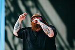 Rapper Action Bronson performs at Weekend 1 of the Coachella Valley Music and Arts Festival in Indio, California April 10, 2015. (Photo by Kendrick Brinson)