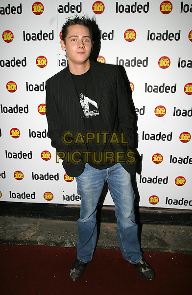 CHRIS PARKER.Loaded - 10th birthday awards ceremony & party at Rouge nightclub.7 April 2004.full length, full-length, blazer, denim jeans.www.capitalpictures.com.sales@capitalpictures.com.© Capital Pictures.