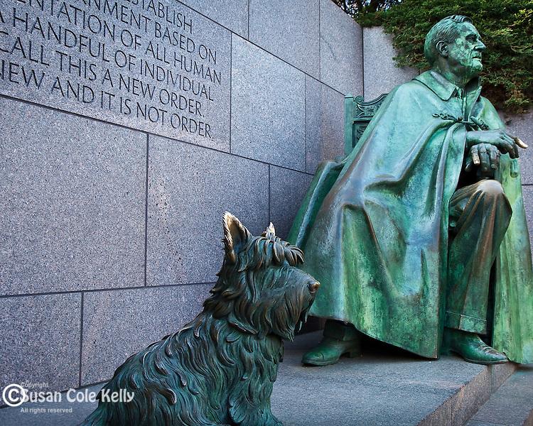 The Franklin Delano Roosevelt Memorial, Washington, DC, USA
