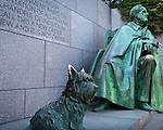 The Franklin Delano Roosevelt Memorial, Washington, DC, USA