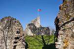 Burg Ruine, Schellenberg, Liechtenstein