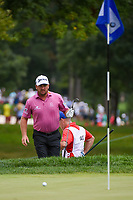 Graeme McDowell (NIR) after hitting from the trap on 5 during Rd3 of the 2019 BMW Championship, Medinah Golf Club, Chicago, Illinois, USA. 8/17/2019.<br /> Picture Ken Murray / Golffile.ie<br /> <br /> All photo usage must carry mandatory copyright credit (© Golffile   Ken Murray)