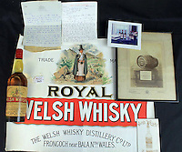 2016 11 24 Welsh whisky to be auctioned off, Carmarthen, Wales, UK