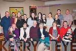 DIAMOND COUPLE: James and Mary Horgan, Castlegregory (seated centre) had a marvellous evening celebrating their 60th wedding anniversary in Tamarind Thai restaurant, Tralee lsst Saturday along with lots of family and friends.