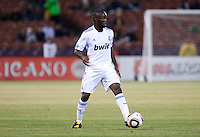 Lassana Diarra. Real Madrid defeated Club America 3-2 at Candlestick Park in San Francisco, California on August 4th, 2010.