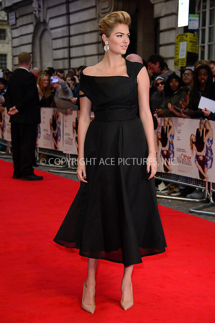 WWW.ACEPIXS.COM<br /> <br /> April 2 2014, London<br /> <br /> Kate Upton arriving at the UK Gala Screening of 'The Other Women' at the Curzon Mayfair on April 2 2014 in London<br /> <br /> By Line: Famous/ACE Pictures<br /> <br /> <br /> ACE Pictures, Inc.<br /> tel: 646 769 0430<br /> Email: info@acepixs.com<br /> www.acepixs.com