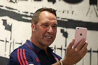 Arsenal legend David Seaman meets fans during the Arsenal FC 2019-20 Adidas Home Kit Launch at the Armoury Shop, Emirates Stadium on 1st July 2019