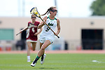 RICHMOND, VA - APRIL 27: Notre Dame's Sydney Cardozo. The Notre Dame Fighting Irish played the Boston College Eagles on April 27, 2017, at Sports Backers Stadium in Richmond, VA in an ACC Women's Lacrosse Tournament quarterfinal match. Boston College won the game 17-14.